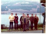 L to R: Brian, Colin, Billy. John, Dave, Paul and Roy at Arrochar, Loch Long